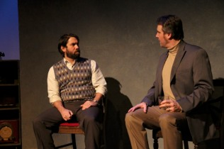 Daniel Billet and Aaron Wiseman in Betrayal at Perseverance Theatre 2013
