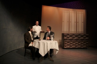 Daniel Billet, James Sullivan, and Aaron Wiseman in Betrayal